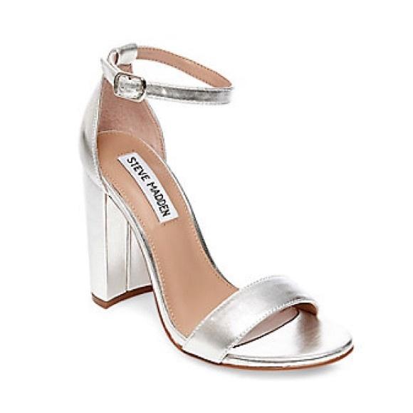 1c3e174a4f8 Steve Madden Carson sandal heel. M 5a51704d1dffda491002f938